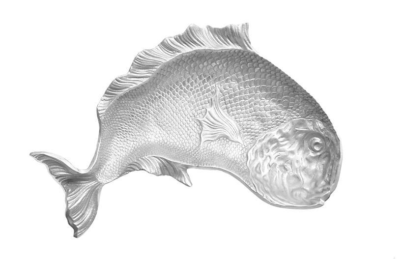 Large Aluminum Fish Platter