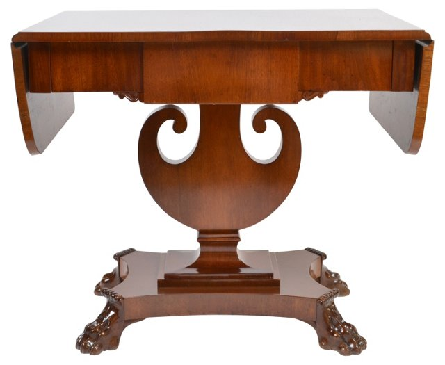Swedish  Biedermeier  Pedestal Table