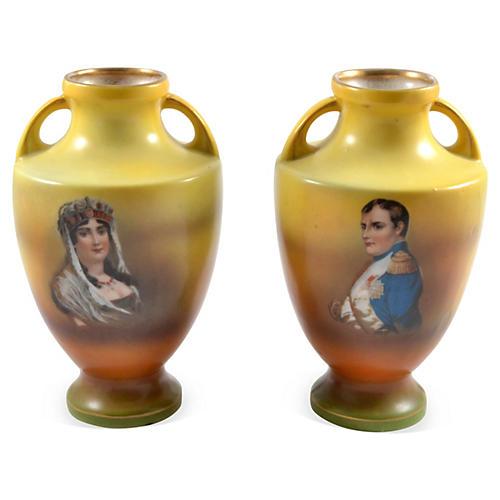 Austria Vases Josephine and Napoleon