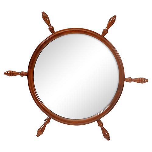Mariner's Wheel Wall Mirror