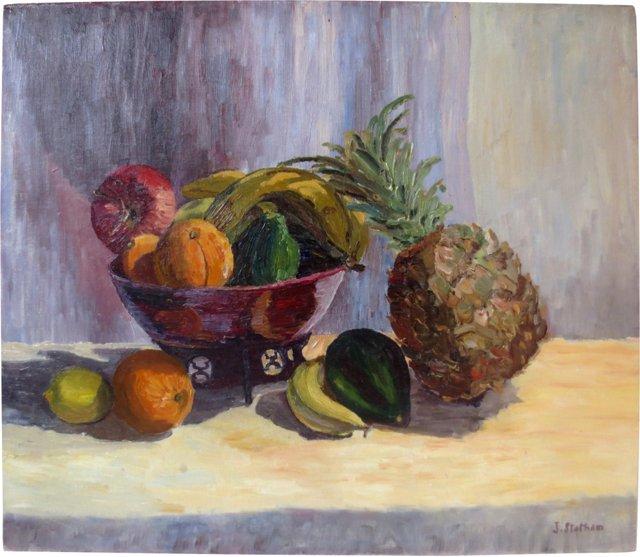 Still Life w/ Pineapple, C. 1960
