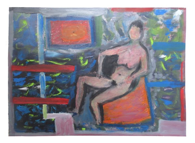 Nude in Abstraction by Felix Bronner