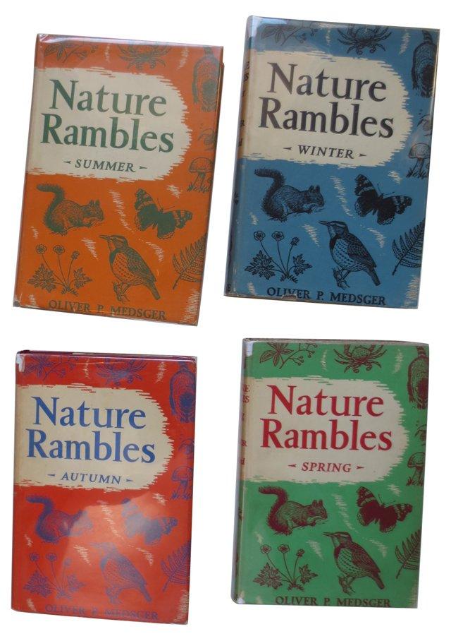 Nature Rambles, 4 Vols