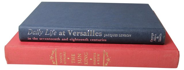 French Royalty Books, Pair