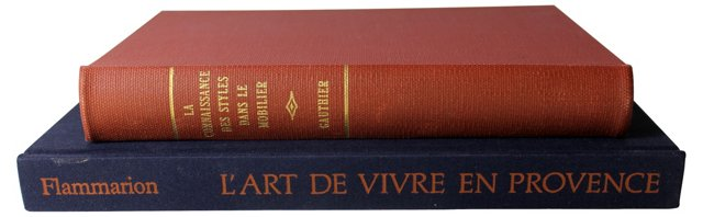 French Design Books, Pair