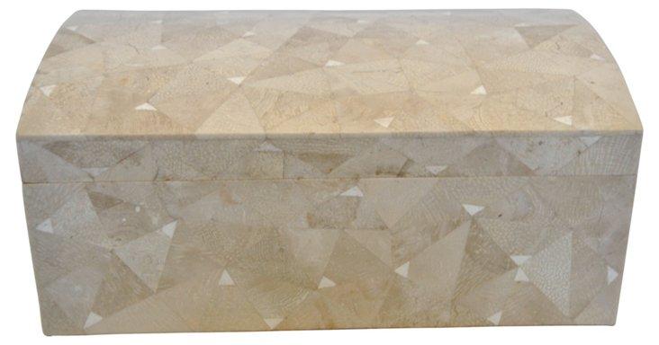 Tesselated Bone Box by Maitland-Smith