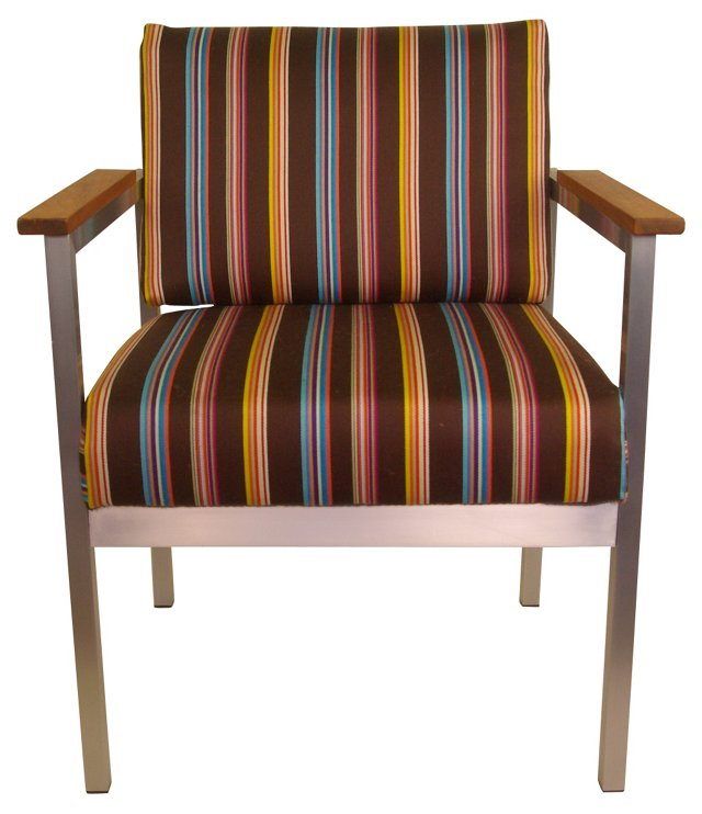 Chair w/ Paul Smith  Upholstery