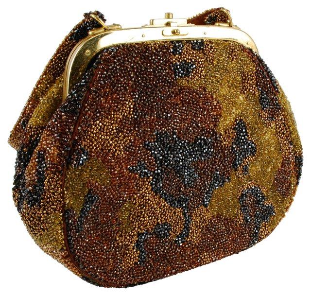 Nettie Rosenstein Hand-Beaded Bag