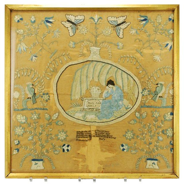 Framed Needlepoint, 1819