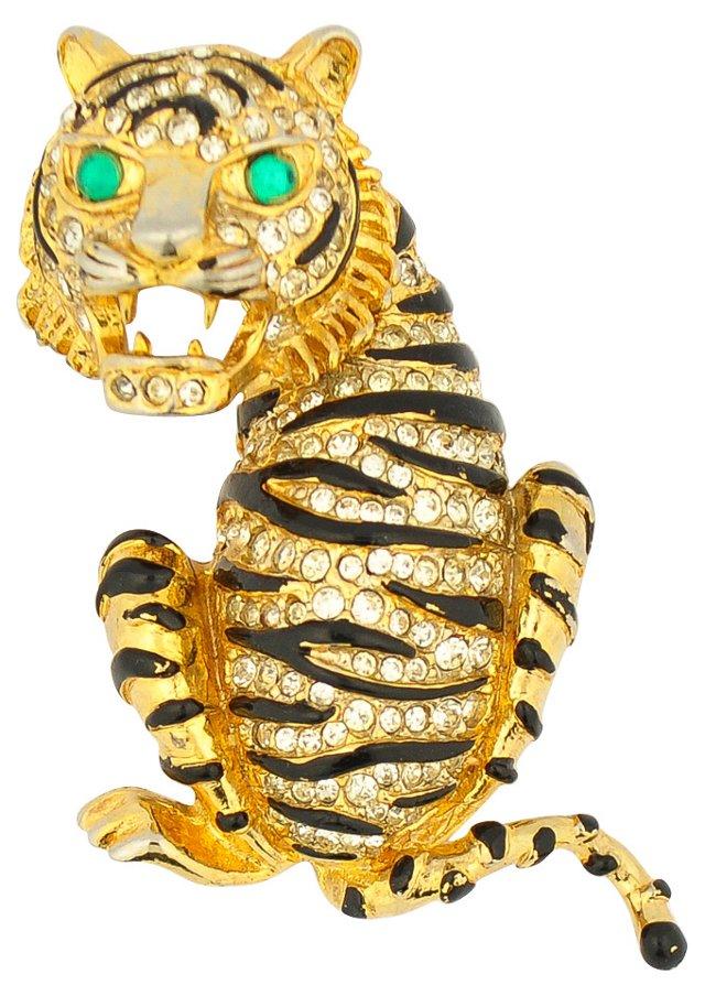 Pauline Rader Tiger  Pin