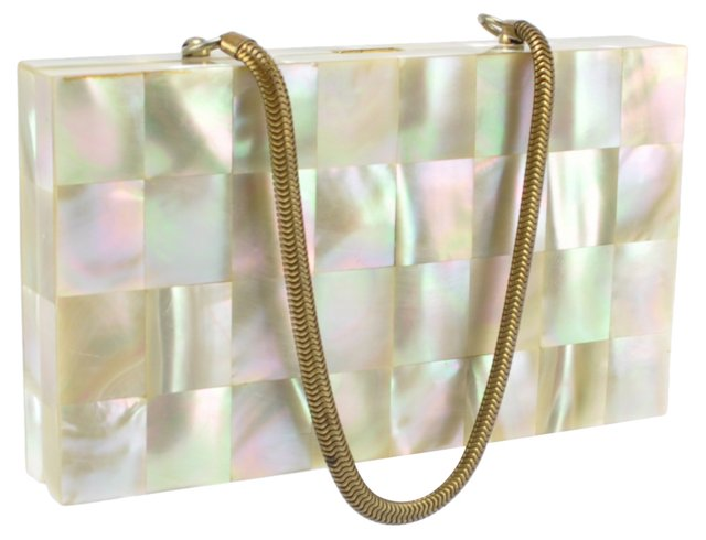 Mother-of-Pearl   Minaudière