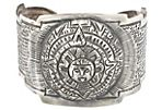 Maciel Mexican Silver Hand-Hammered Cuff