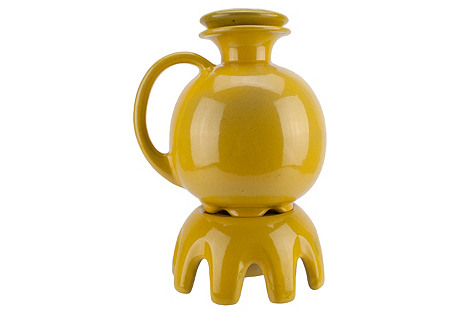 Frankoma Art Pottery Kettle & Warmer