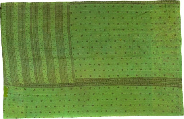 Kantha, Bright Green