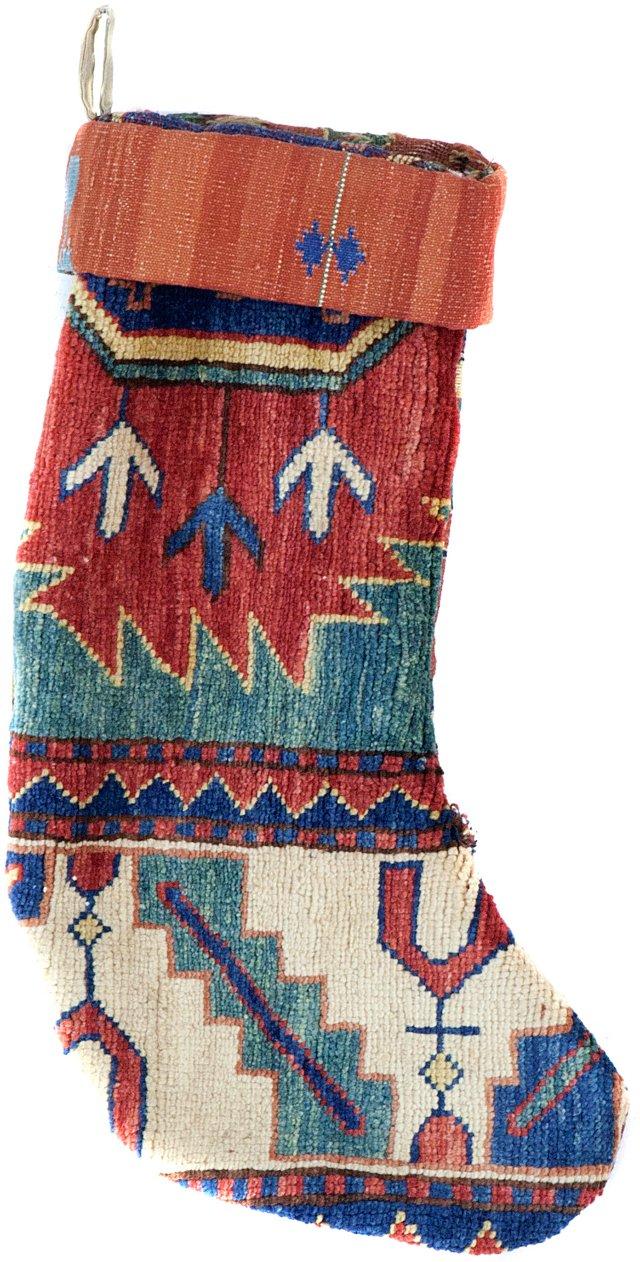 Kazak & Kilim Stocking III