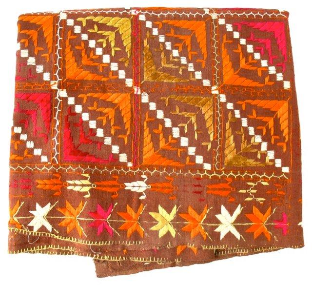 Indian Phulkari   Weaving