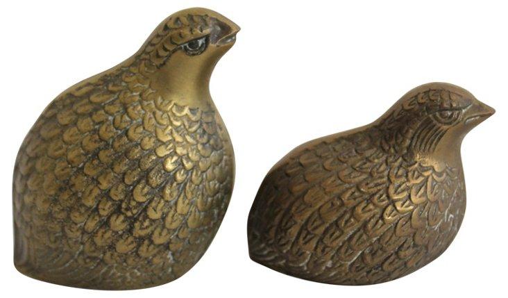 Brass Birds, Pair