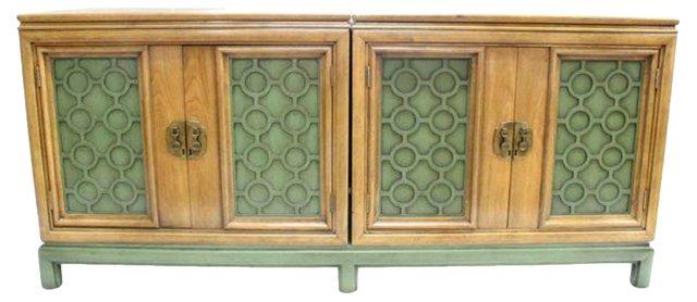 Credenza w/ Decorative Panels