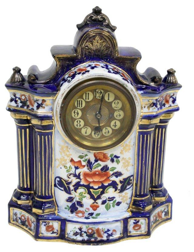 Victorian Porcelain Clock