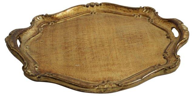 Italian Gilded Tray