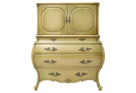 French-Style Bombé High Chest