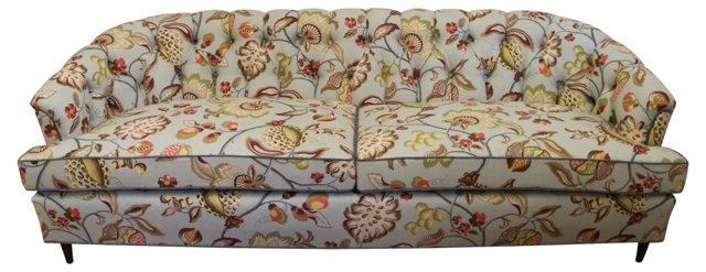 Floral-Print Sofa