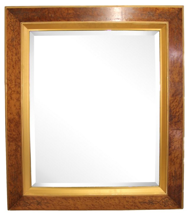 19th-C. Eastlake-Style Mirror