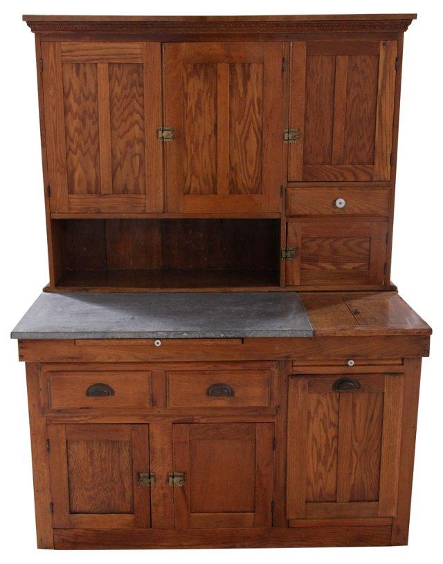 19th-C. Hoosier Cabinet