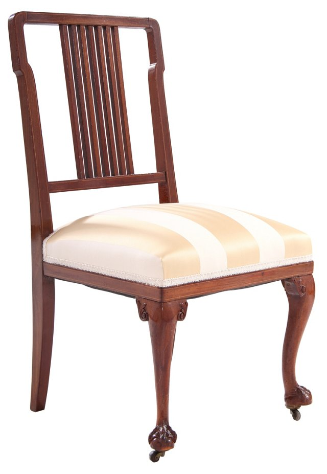 Chinese Chippendale Parlor Chair (Y)