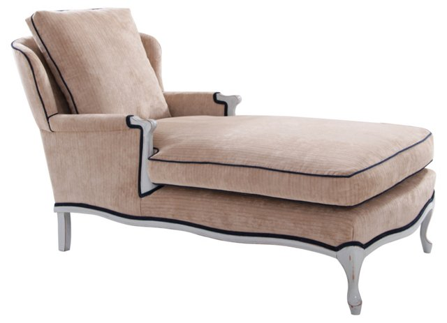 Victorian-Style Chaise Longue
