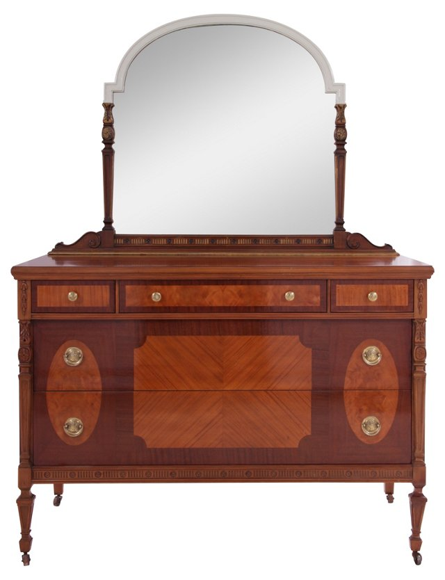 19th-C. Bureau by Tell City Furniture(Y)