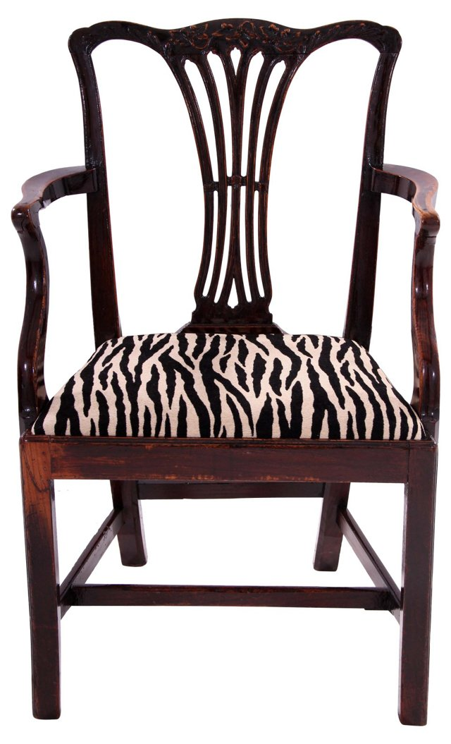 Chippendale-Style  Chair