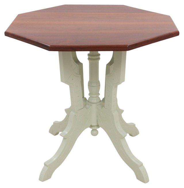 Depression-Era Mahogany Side Table