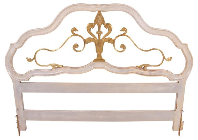 French-Style Headboard, California-King