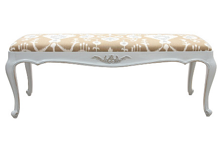 White Furniture Palace Pearl Bench