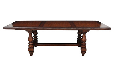 Mediterranean-Style Library Table