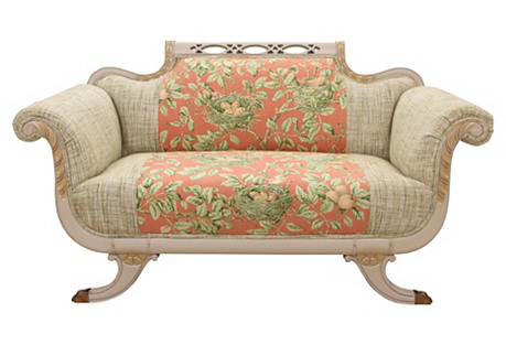 Duncan Phyfe Style Settee