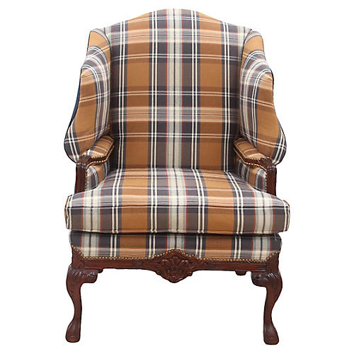 English-Style Wing Chair