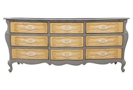 Rococo-Style Nine-Drawer Dresser