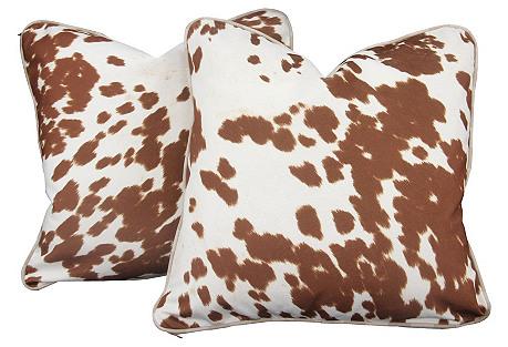Pony Pillows, Pair