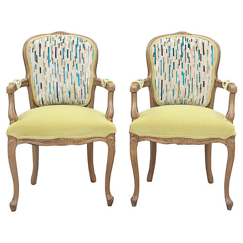 Fairford Fauteuils, Pair