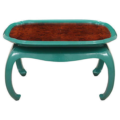 Chin Hua Style Emerald Coffee Table