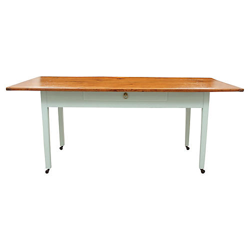 Palladium Blue Farm Table