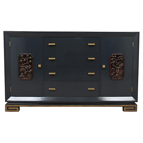 Carved Ming Buffet