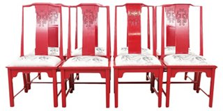 Draco Ming Chairs S/8   Dining Chair Sets   Dining Chairs   Dining Room    Furniture | One Kings Lane
