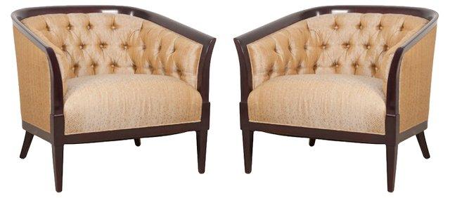 Erwin-Lambeth Club Chairs, Pair