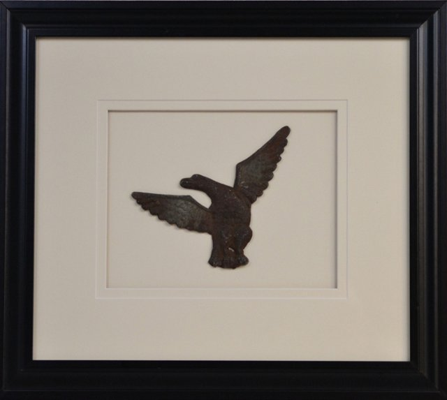 Framed Antique Federal Eagle