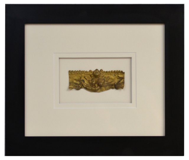 Framed Gilt Antique French Fragment