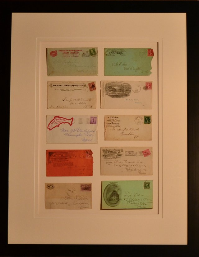 Collection of 10  Envelopes c-1920's