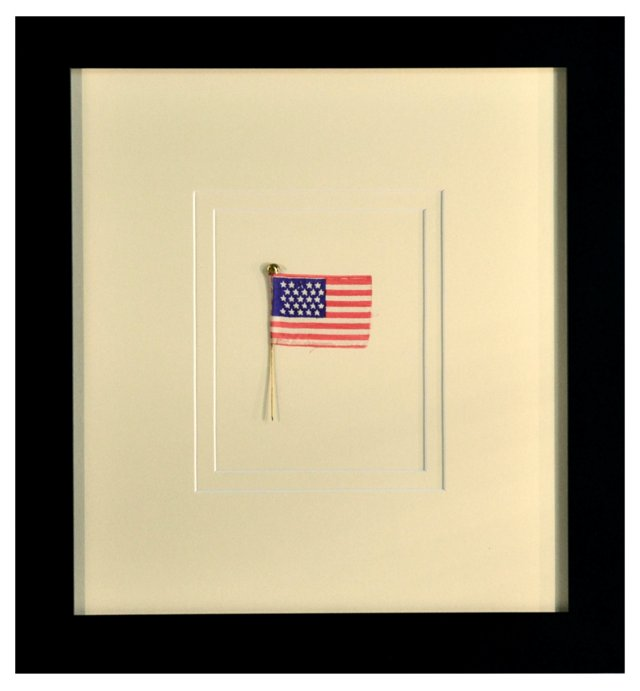 Rare Silk 25-Star Flag c. 1836